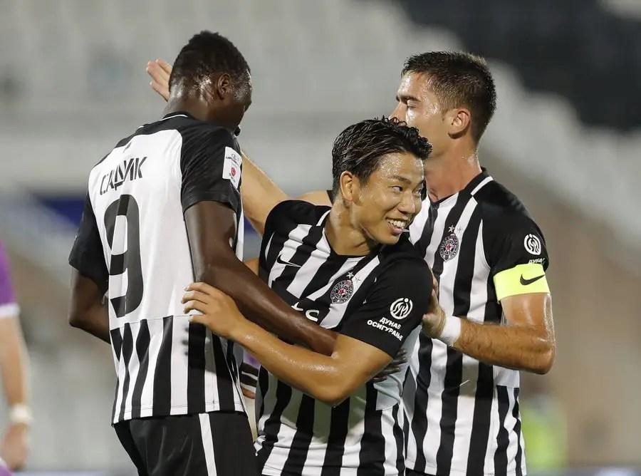 Club Brugge Step Up Sadiq Chase