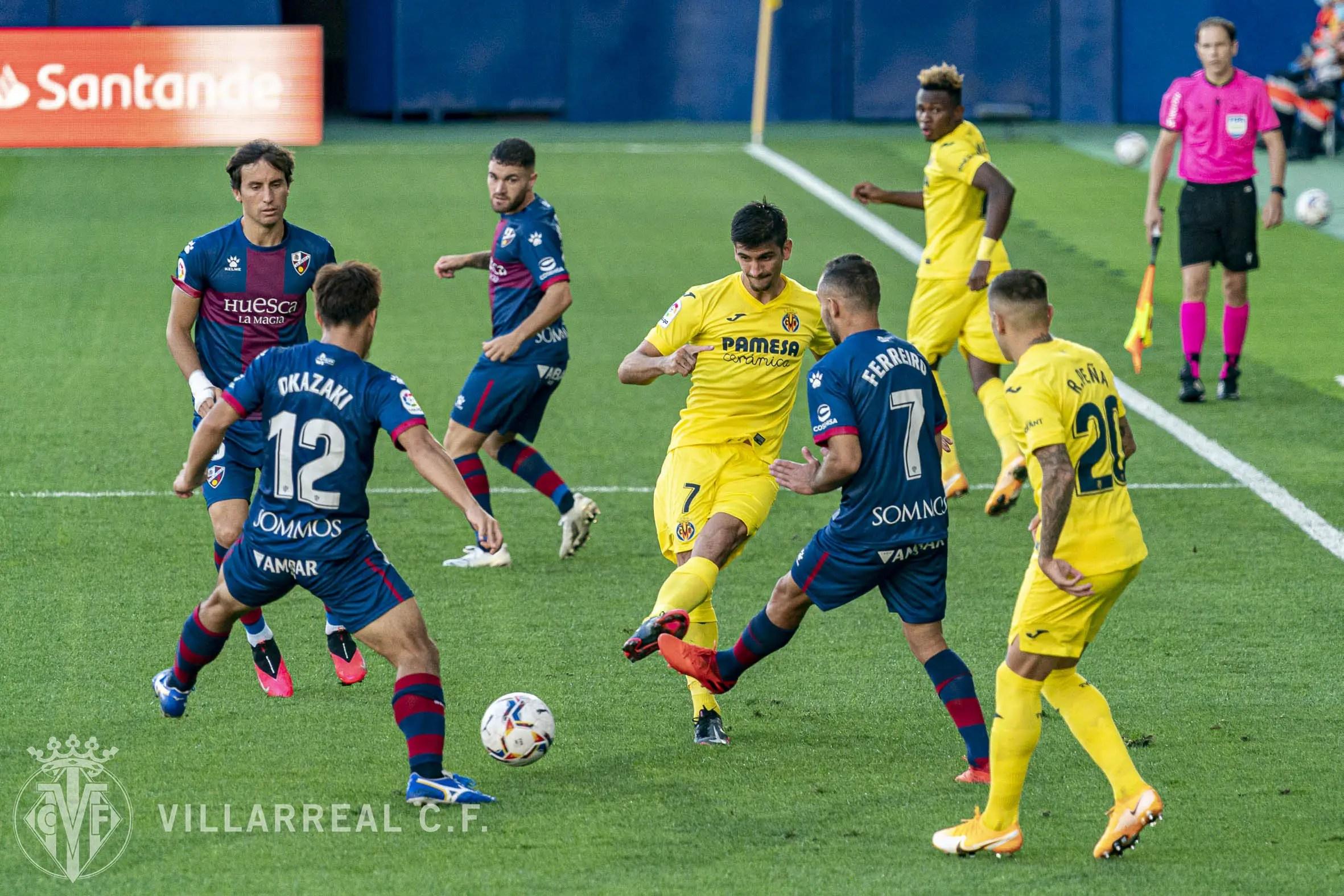 LaLiga: Chukwueze, Nwakali In Action As Villarreal Hold Huesca