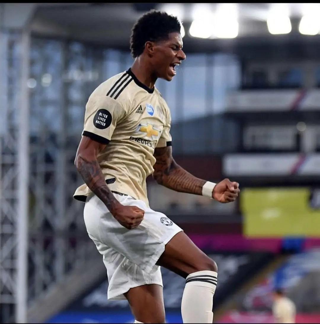 Rashford  Beats  Ighalo, Others To Win  Man United Goal Of The Season Award