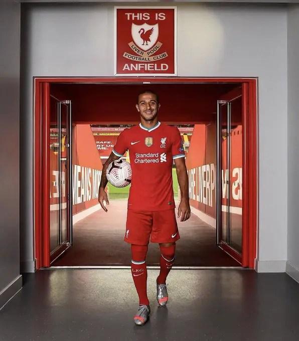 Liverpool Sign Thiago Alcantara  From Bayern Munich