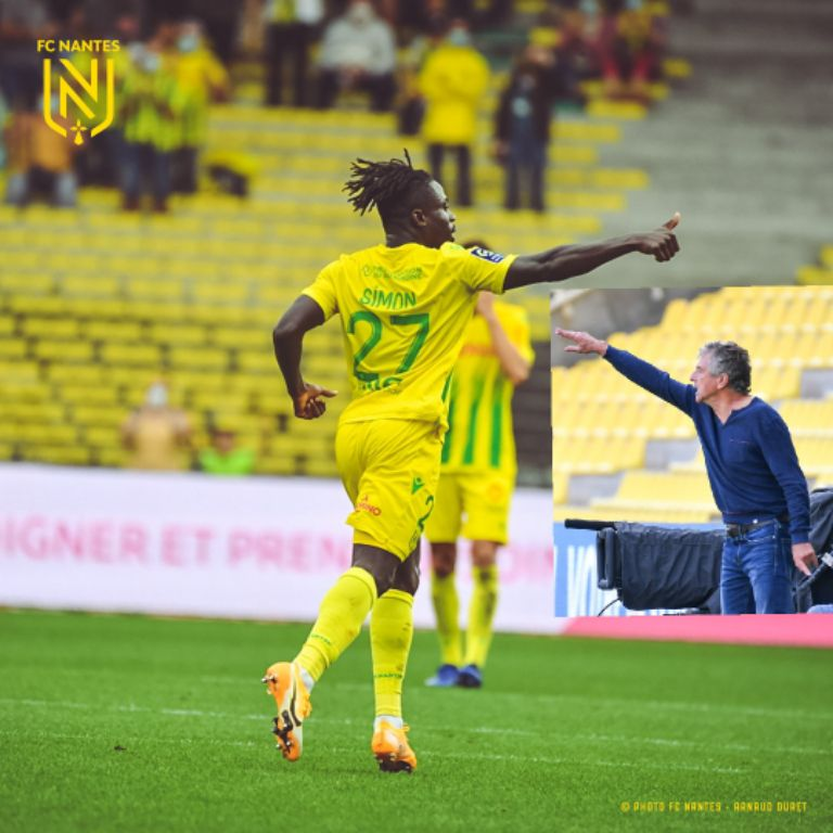 Nantes Coach Gourcuff Happy 'Simon's Confidence Is Back' After Netting 1st Goal Of Season