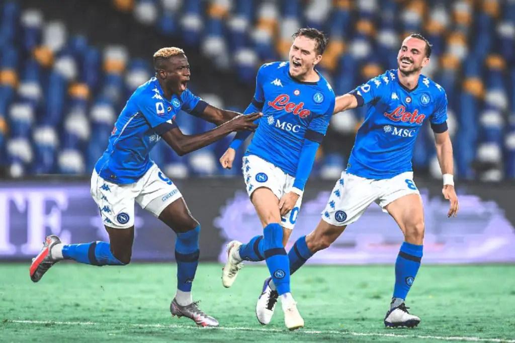 Covid-19: Osimhen, Napoli Teammates Advised To Avoid Eateries, Fans' Hugs
