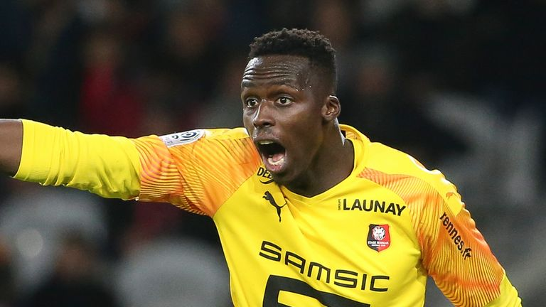 Chelsea Closing In On Rennes First Choice Goalkeeper Mendy