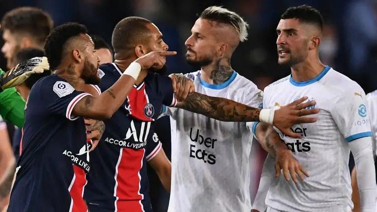 Neymar Gets Two-Game Ban Following PSG-Marseille Brawl