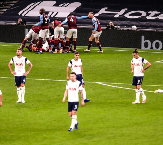 Premier League: West Ham Score Three Late Goals To Draw At Tottenham Hotspur