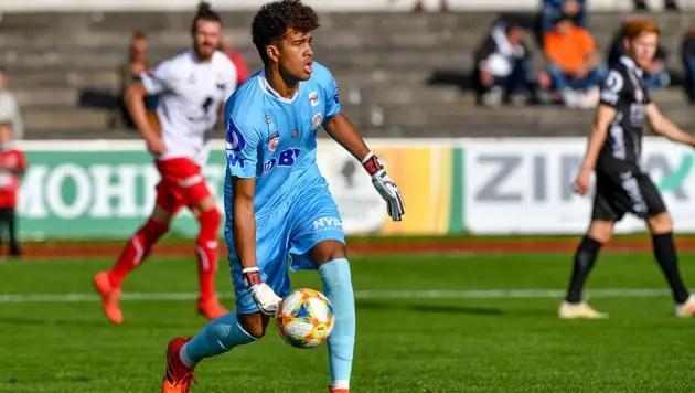 LASK Goalkeeper Lawal Joins Super Eagles' Austria Camp