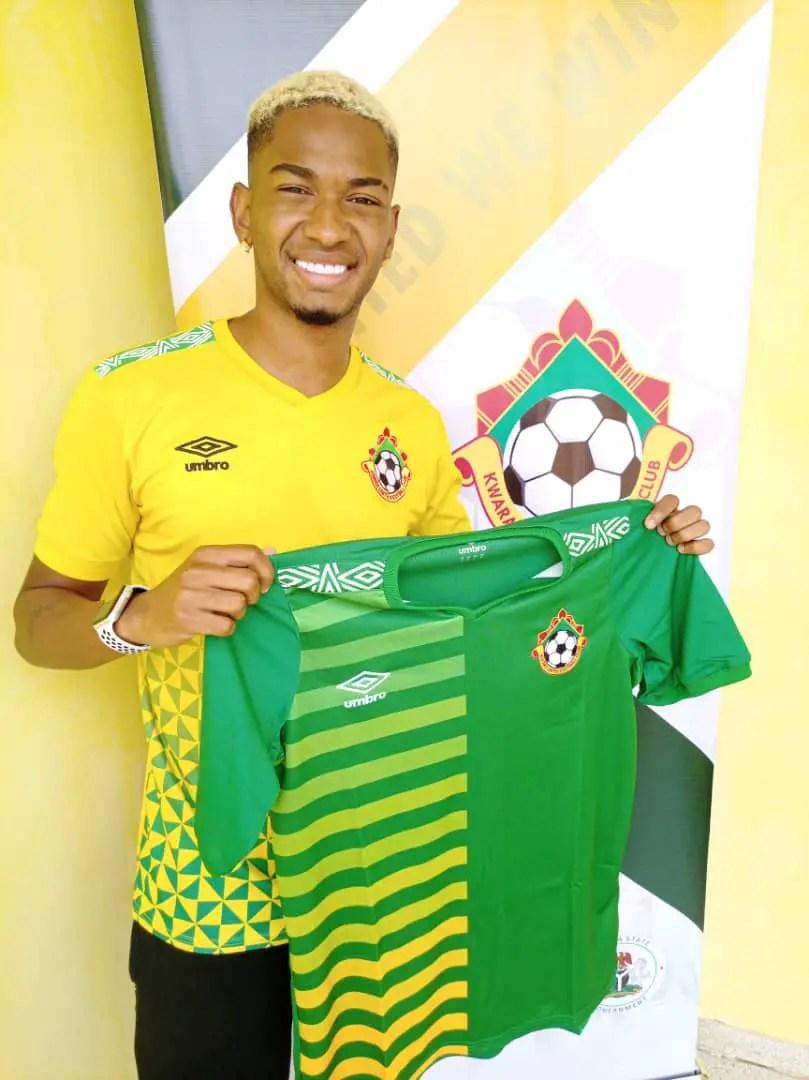 Kwara United Unveil Brazilian Winger Alves