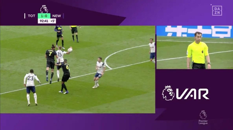 Premier League Want Change In Handball Law