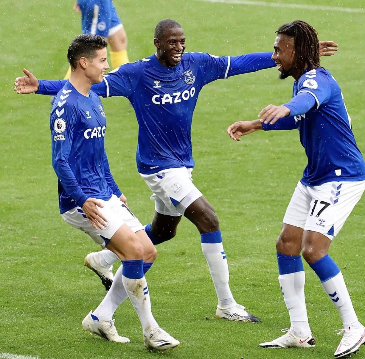 FA Cup: Iwobi Shines In Everton's Nine-Goal Thriller Win Vs Tottenham Hotspur