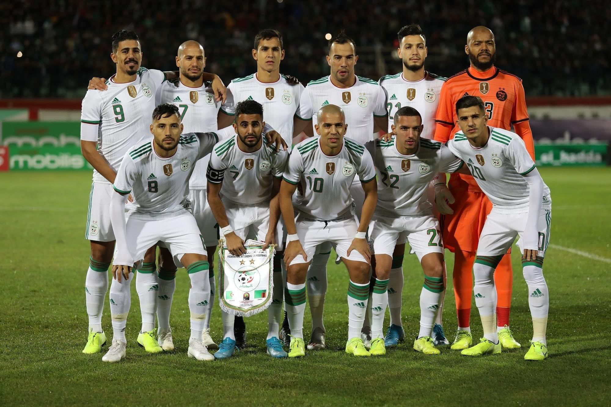 Friendly: Algeria Unleash Mahrez, Benrahma, Feghouli On Super Eagles