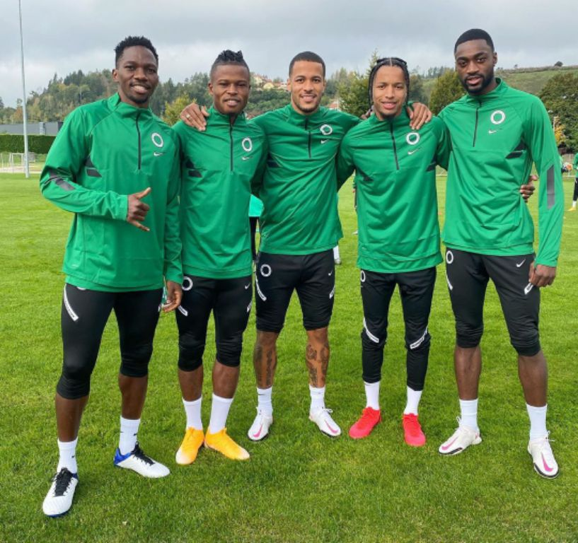 Super Eagles Train, Dazzle In New Nike Kits Ahead Algeria Clash