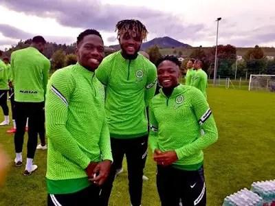 Musa, Onuachu In Contention To Lead Super Eagles Attack Vs Algeria