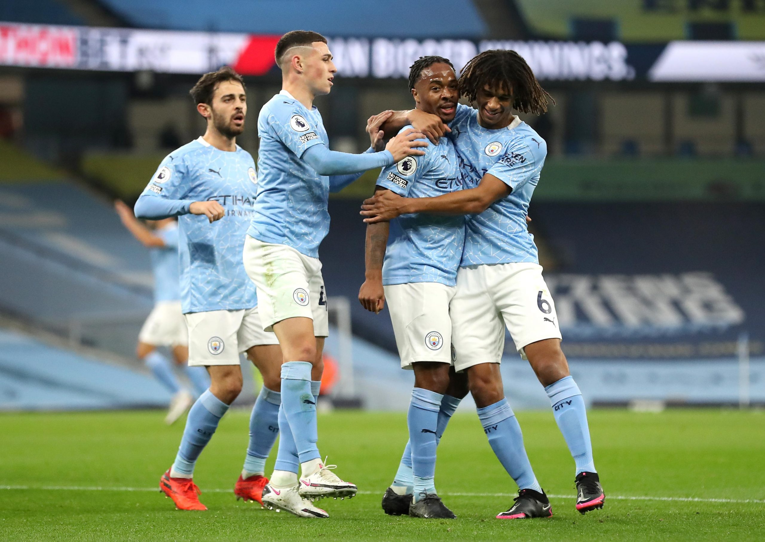 Premier League:  Sterling On Target As  Manchester  City Edge Arsenal