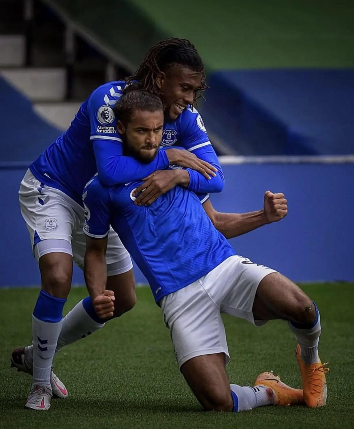 Iwobi Celebrates Everton EPL Unbeaten Run After Draw Vs Liverpool