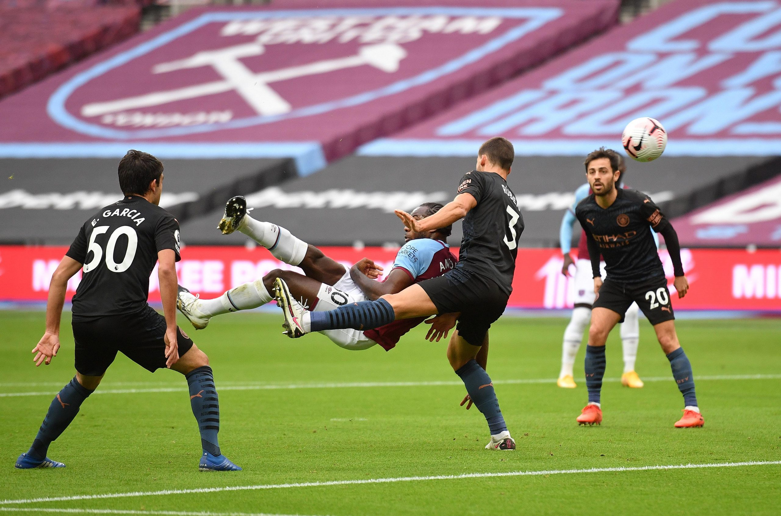 Premier League:  Man City Rally Back To Hold West Ham United