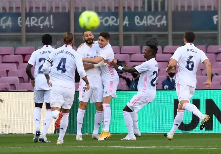 El Clasico: Zidane Makes History As Madrid Beat Barca To Maintain Nou Camp Dominance