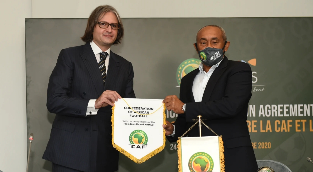 CAF Signs Partnership Deal With ICSS To Boost Security, Integrity Of African Football