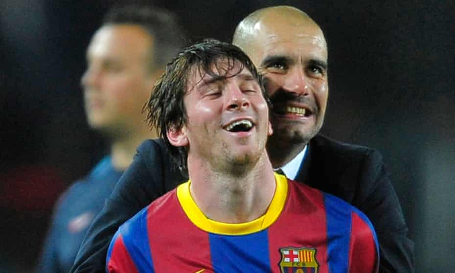 Man City To Step Up Messi Transfer Pursuit After Guardiola's Contract Extension