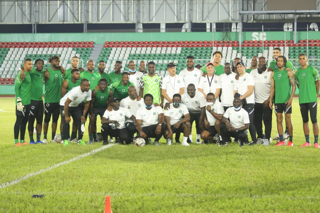 Super Eagles To Train Behind Closed Doors