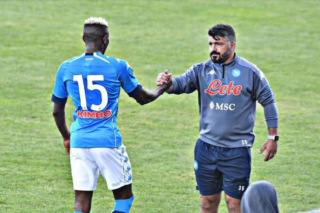 Osimhen: I Want to Repay Gattuso For Having Faith In Me