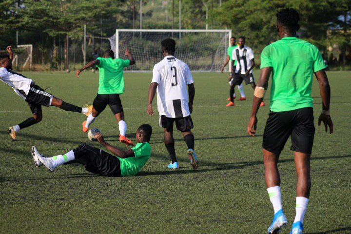 Flying Eagles Thrash Academy Side To Claim Third Win In Friendly Game