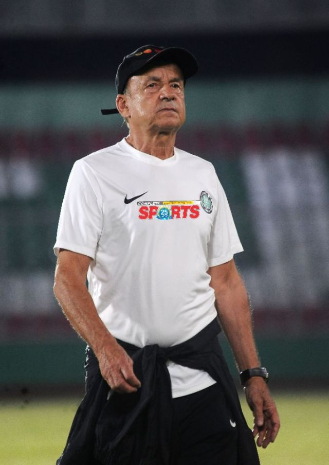 Rohr: There Will Be A Reaction From Super Eagles In Sierra Leone