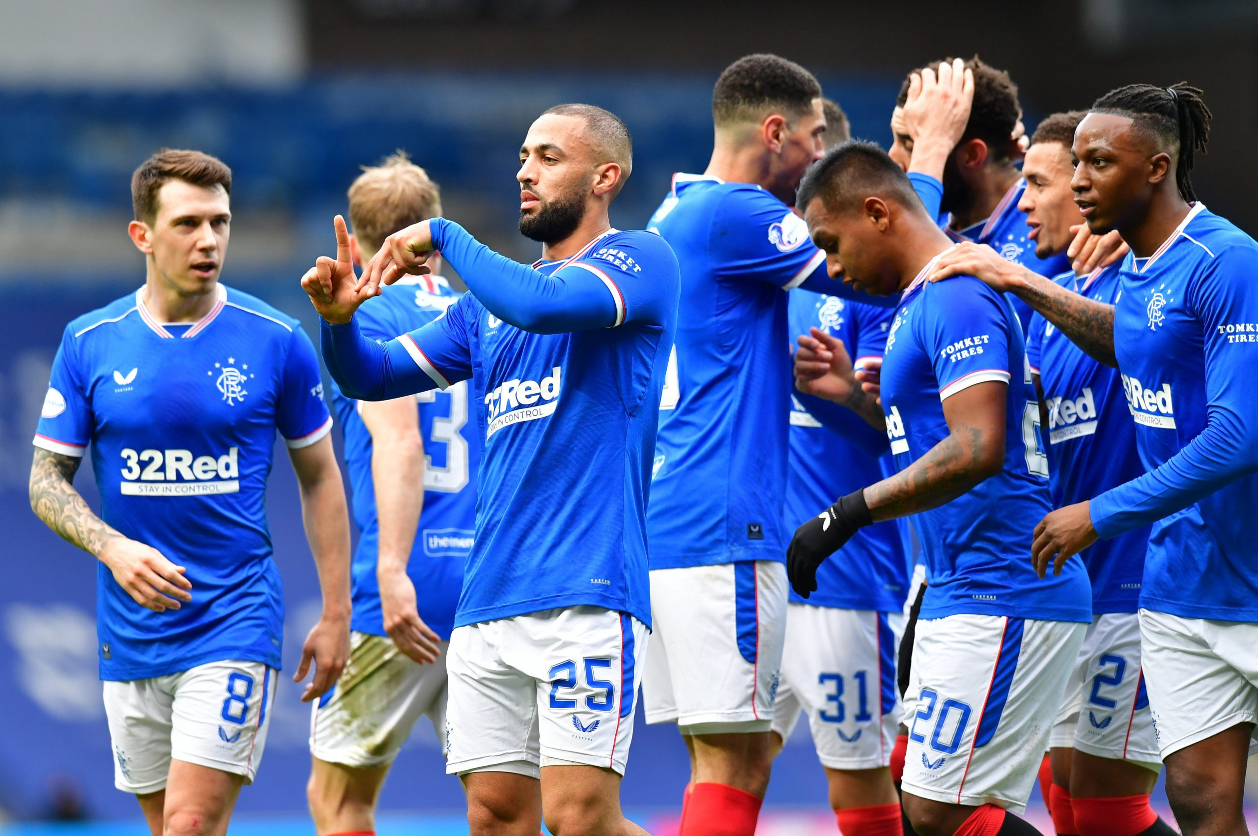 Old Firm Derby: Balogun Bags Assist, Aribo In Action As Rangers Hold Celtic Away To Maintain Unbeaten League Run
