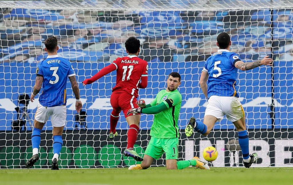 Premier League:  Gross Scores Late Penalty To Deny Liverpool