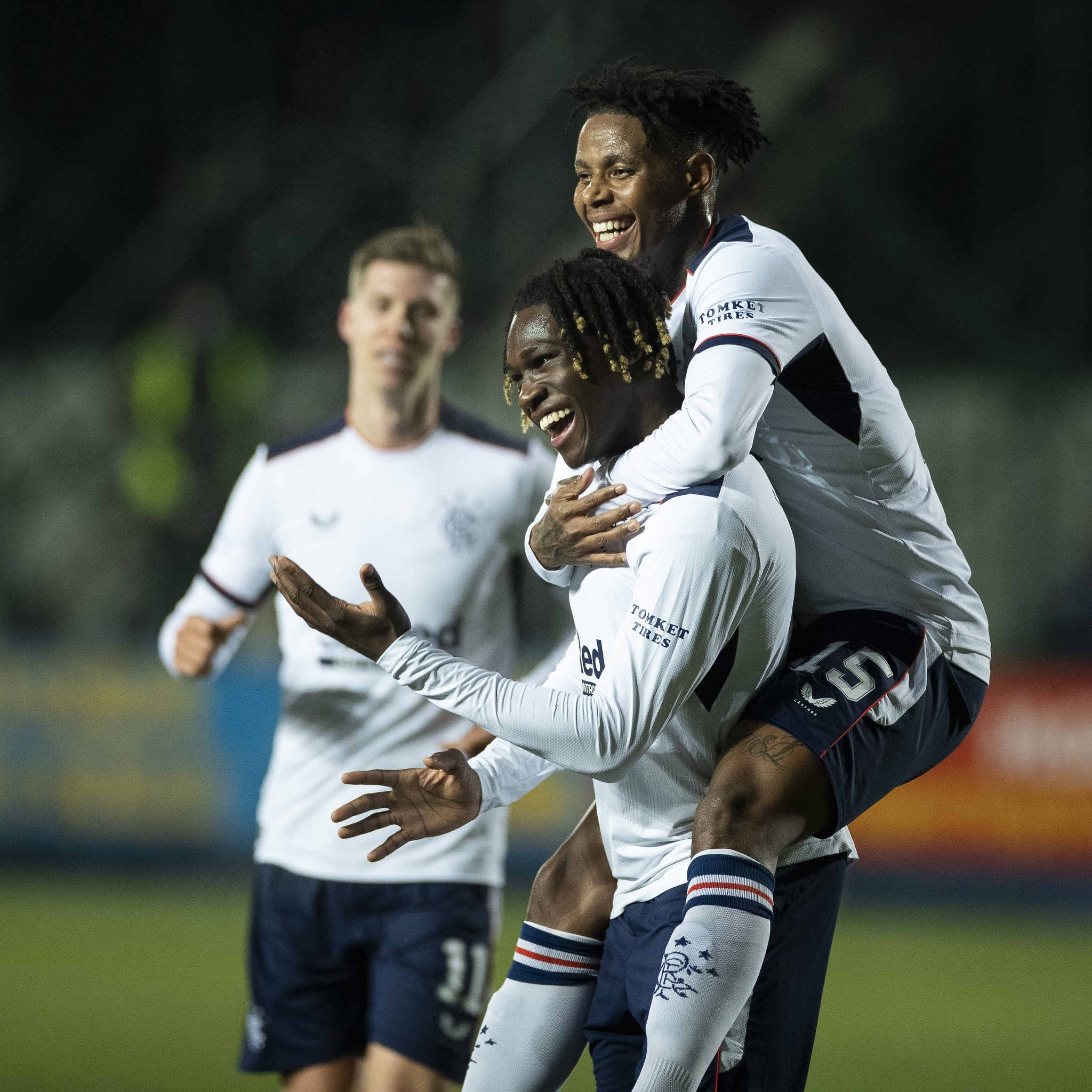Bassey Happy To Score First Professional Goal For Rangers
