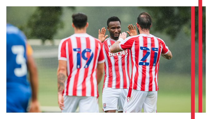 Mikel Set For 10th Championship Game For Stoke CIty Vs Troost-Ekong's Watford