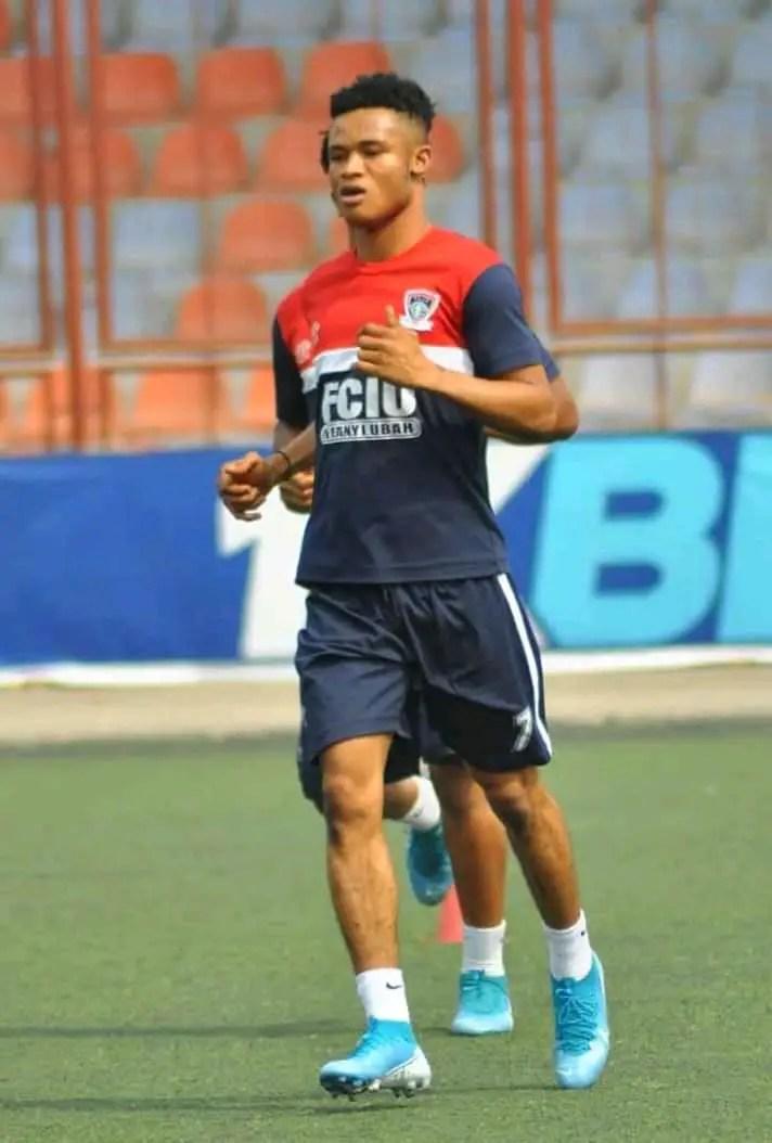 FC Ifeanyi Ubah Match Winner Nzediegwu Dedicates Goal Vs Lobi Stars To Late Brother