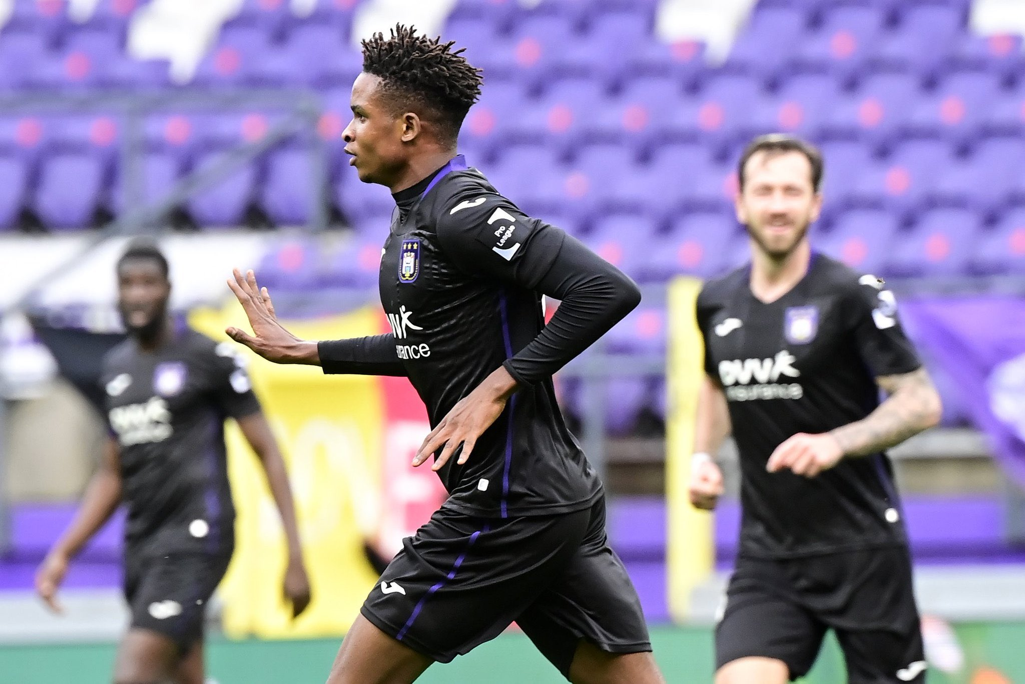 Mukairu Nominated For Anderlecht Goal Of The Month Prize