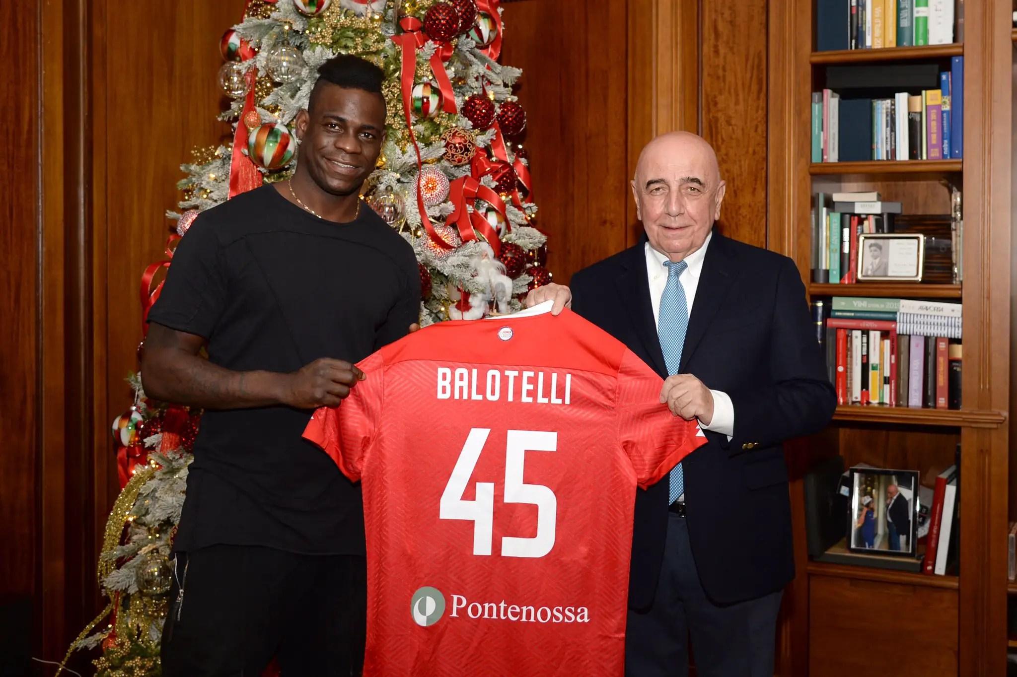 Balotelli joins Serie B Club AC Monza