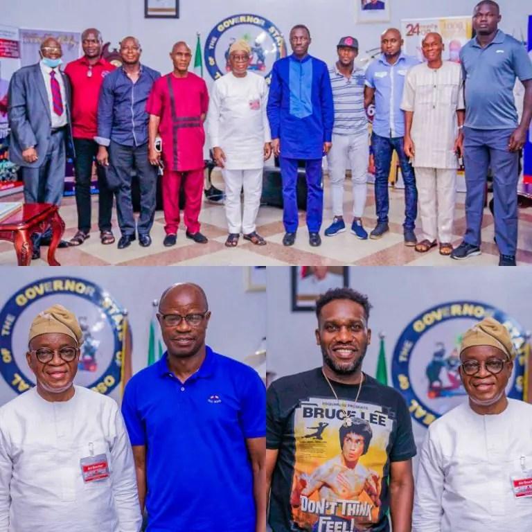 Adepoju, Okocha Laud Osun State's Sports Development Drive