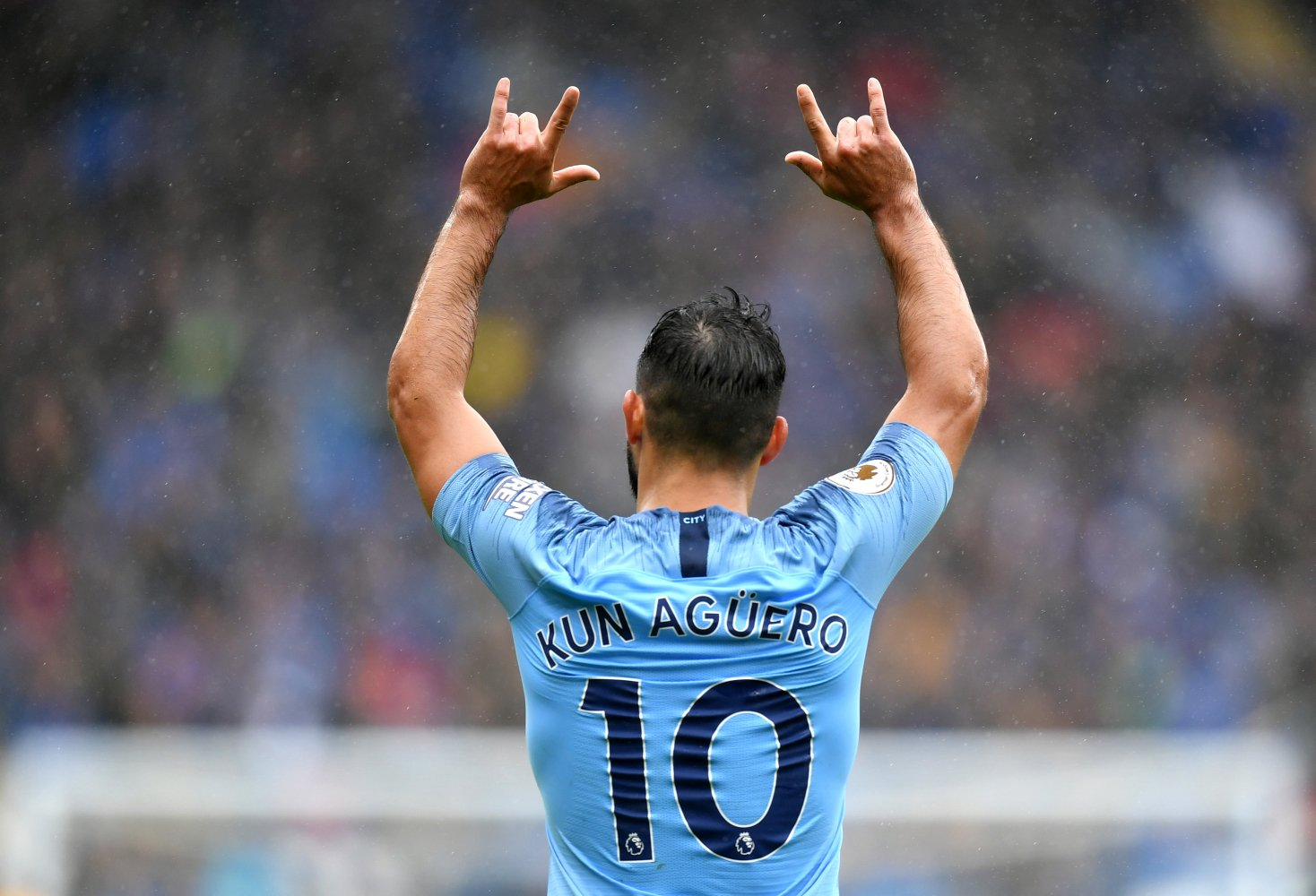 Man City Pip Crystal Palace, On Brink Of Premier League Title