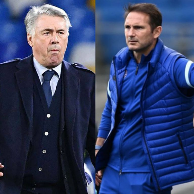 Lampard Warms Up For Clash With Mentor Ancelotti In Everton Vs Chelsea