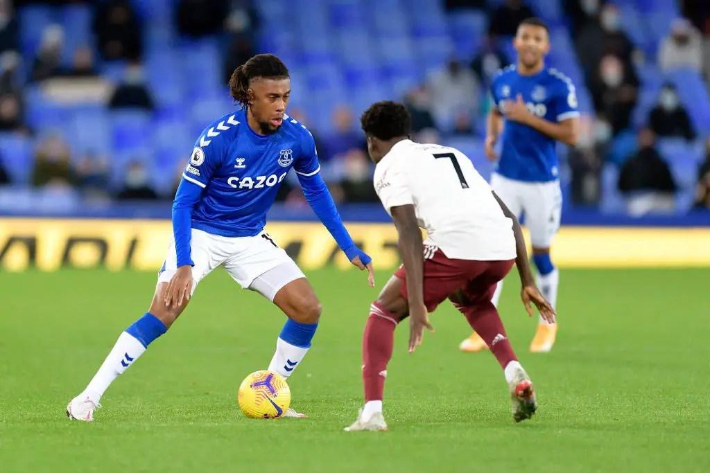 Iwobi Relishes Everton's Win Against Fomer Club Arsenal