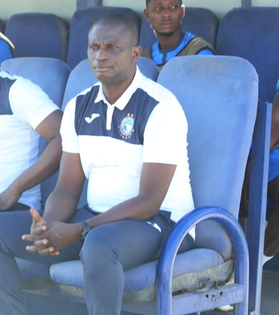 Coach Enyimbe Osho suffered a painful loss to Al Merreikhu –