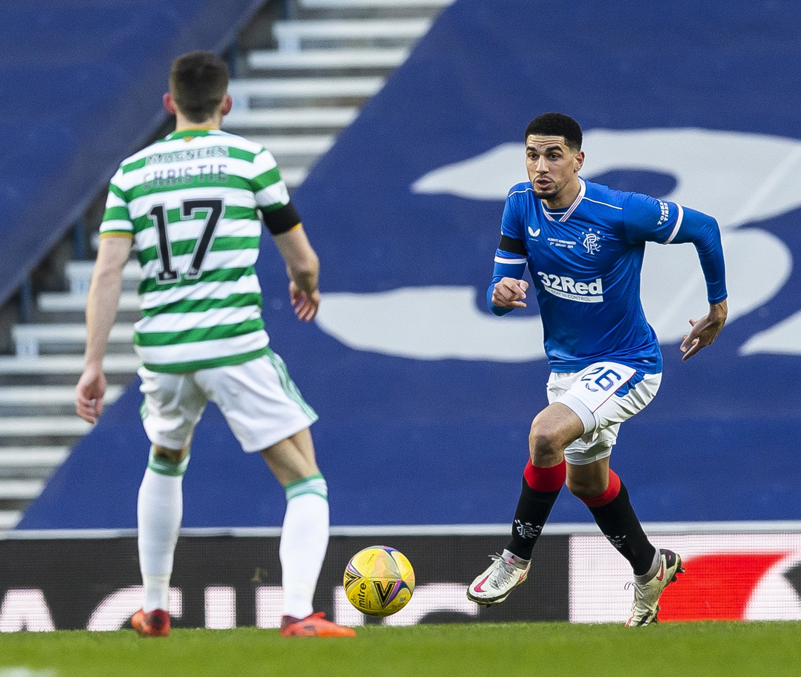 Balogun: Togetherness Key To Rangers Victory Against Celtic