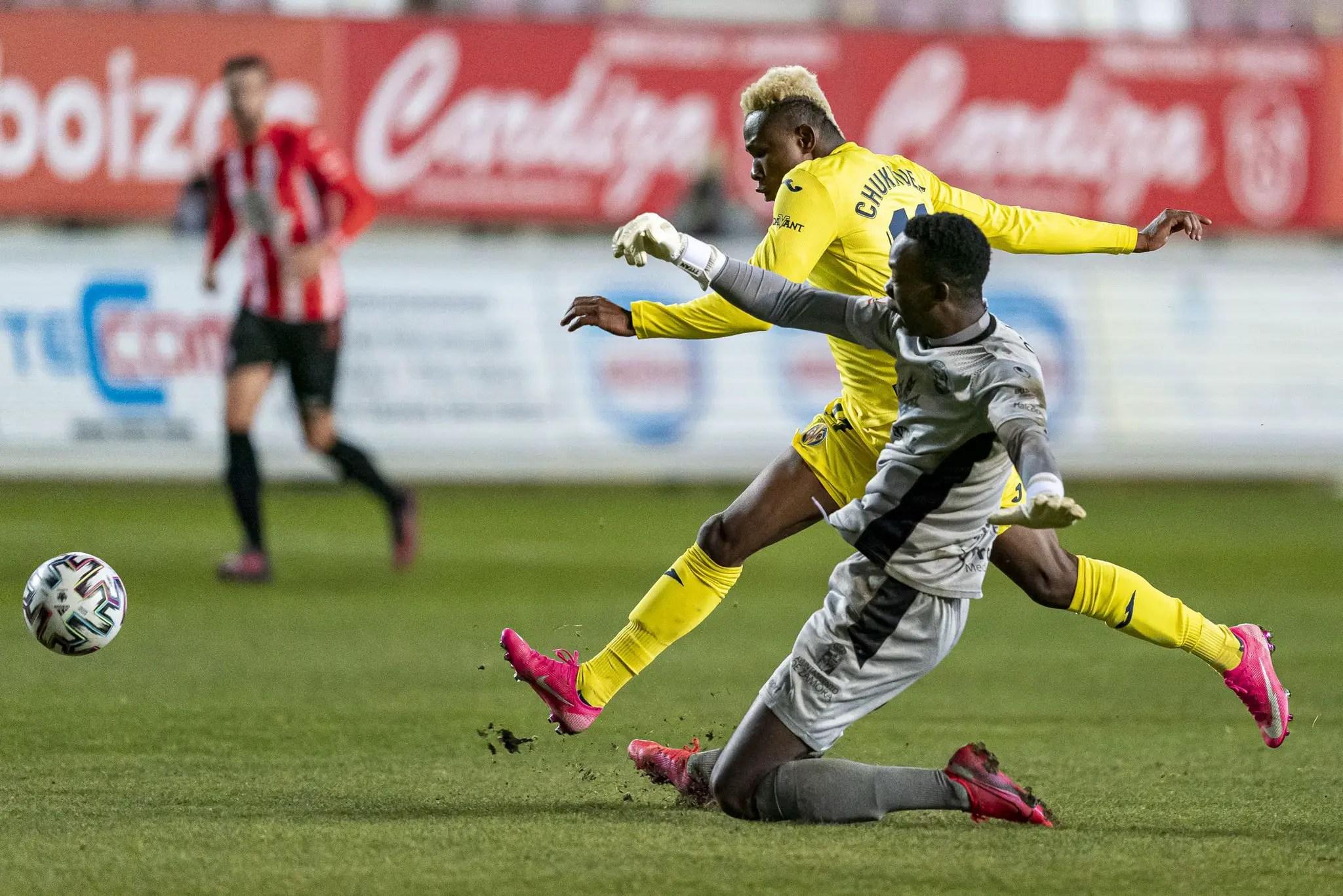 Copa del Rey: Chukwueze Bags Assist In Villarreal's Away Win