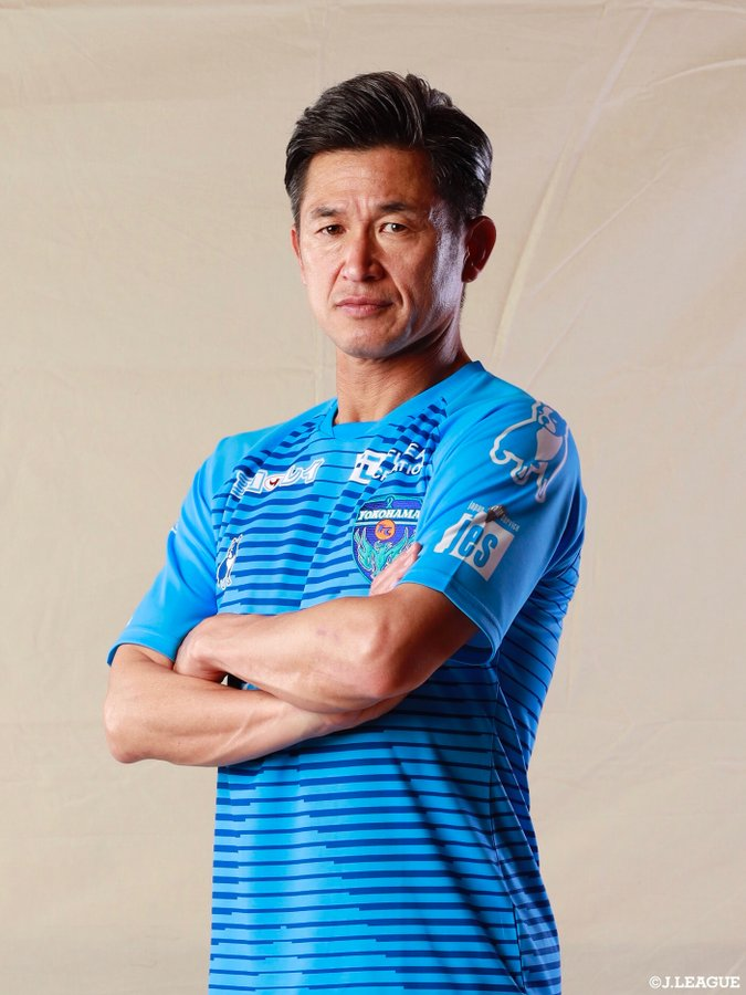 World's Oldest Professional Footballer Kazuyoshi Miura Signs New Contract At 53