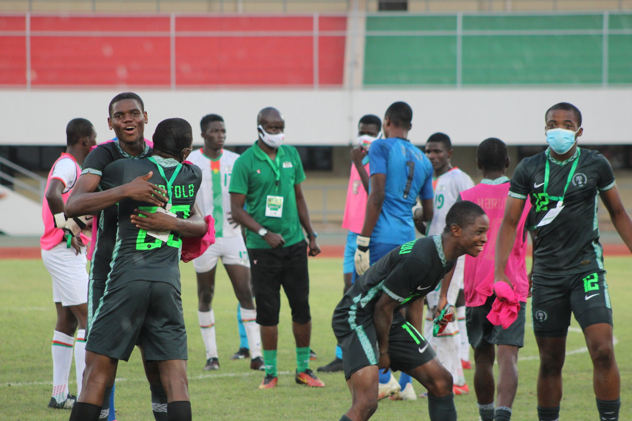 Amoo: How Golden Eaglets Stop Highly-Rated Foes   Burkina Faso