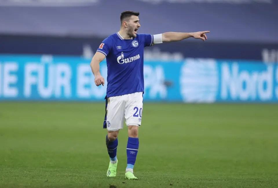 Arsenal Loanee Kolasinac Captains Schalke To First Bundesliga Win In 30 Matches