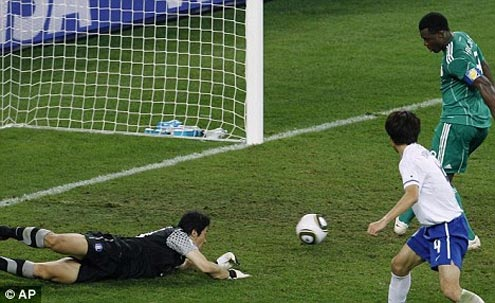 Aiyegbeni: I Won't Apologise For 2010 World Cup Goal Miss