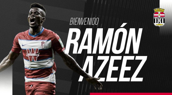 Azeez Joins Spanish Second Division ClubCartagena On Loan