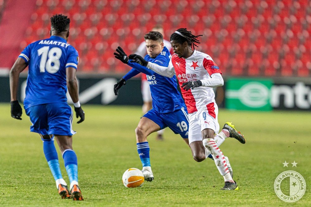 Europa League: Olayinka Fired Up For  Leicester City Clash