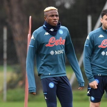 Osimhen Returns To Napoli Training