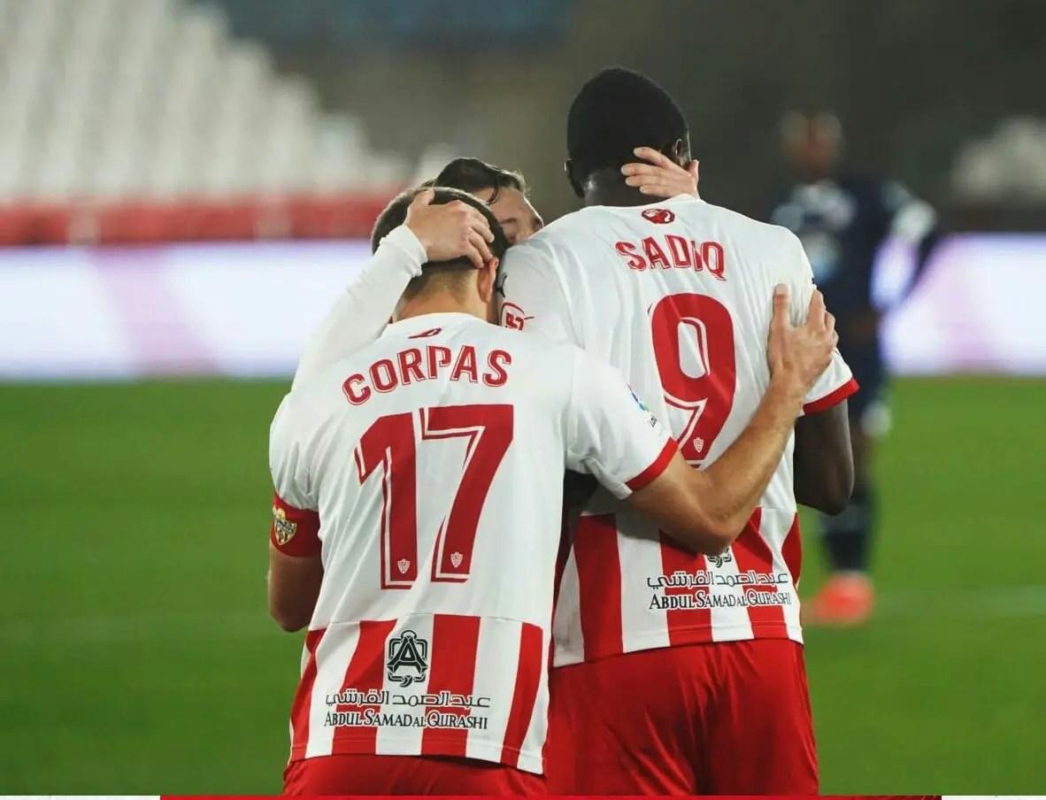 Spanish Segunda: Sadiq Scores, Provides Assist In Almeria's Home Win