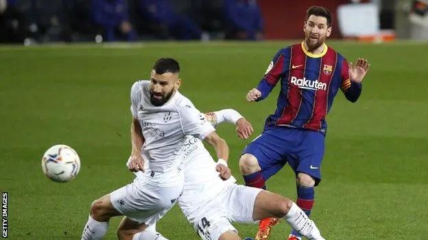 Messi Equals Xavi's Barcelona Record