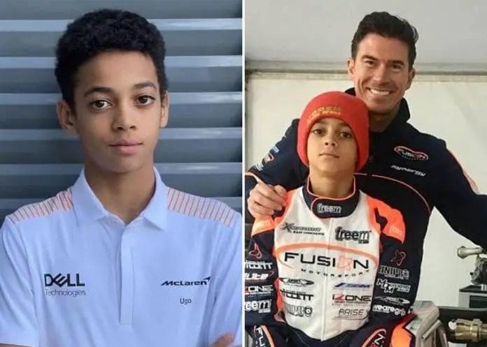 Formula One Giants McLaren Sign Nigerian Driver Ugochukwu